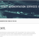 8allocate Featured Among Top 15 Staff Augmentation Providers In the UK