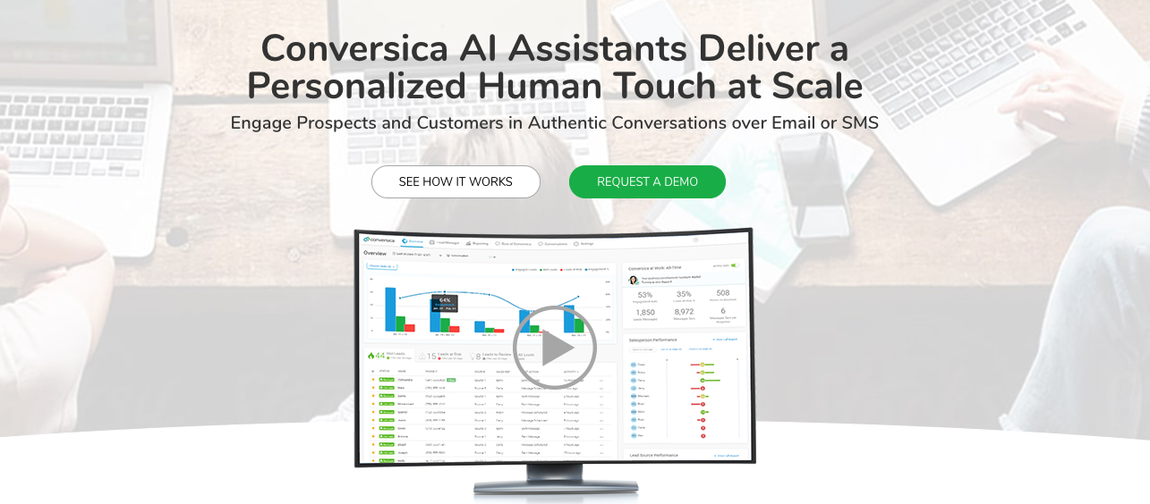 conversica - 8 Actual Applications of AI in Marketing