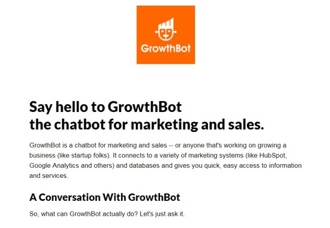 growth bot - 8 Actual Applications of AI in Marketing