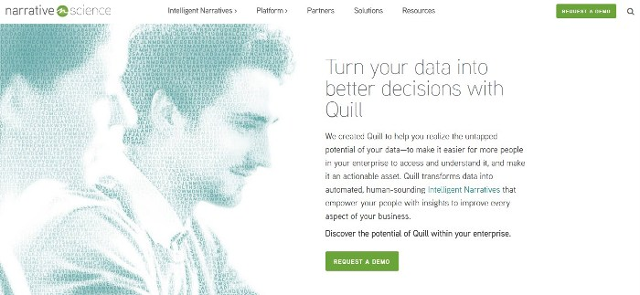quill - 8 Actual Applications of AI in Marketing