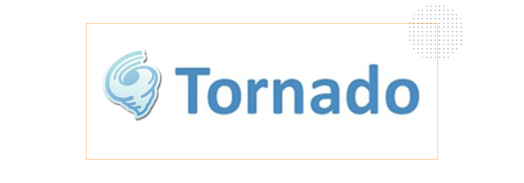 tornado 1024x359 - TOP 5 Python Frameworks To Start With